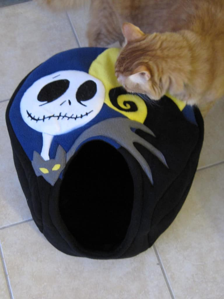 Newton inspects Nightmare Cocoon