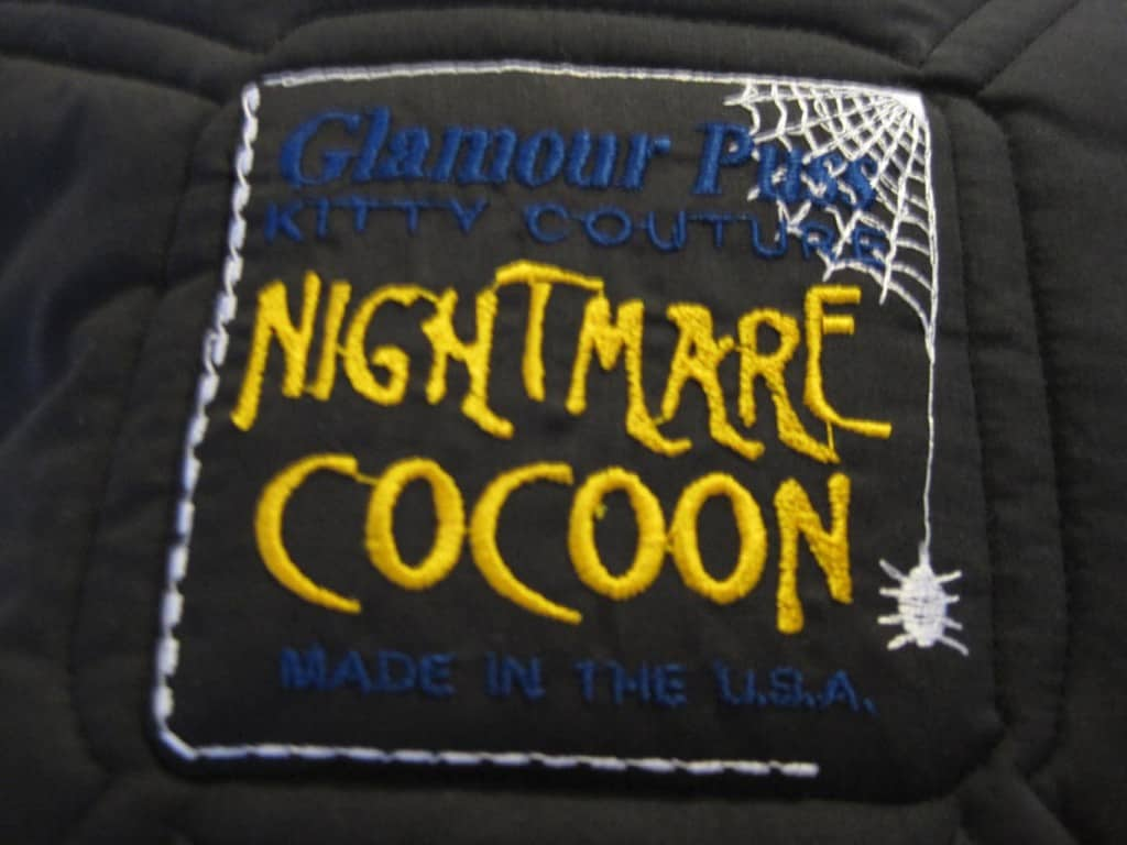 Nightmare Cocoon stitching
