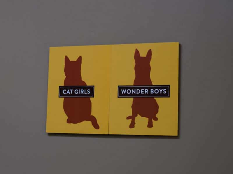 Restroom Signs at Pet Alliance of Greater Orlando