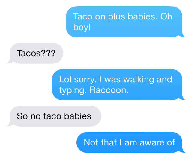 Taco Babies Conversation