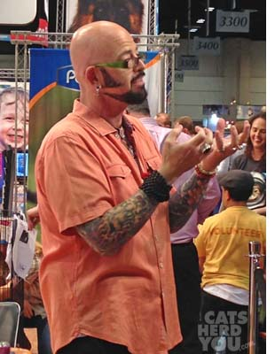 Jackson Galaxy at Global Pet Expo