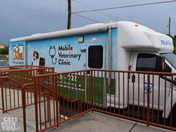 Pet Alliance of Greater Orlando Mobile Vet Clinic