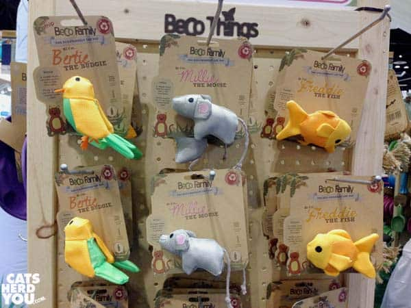Becco cat toys at Global Pet Expo 2016 #globalpetexpo