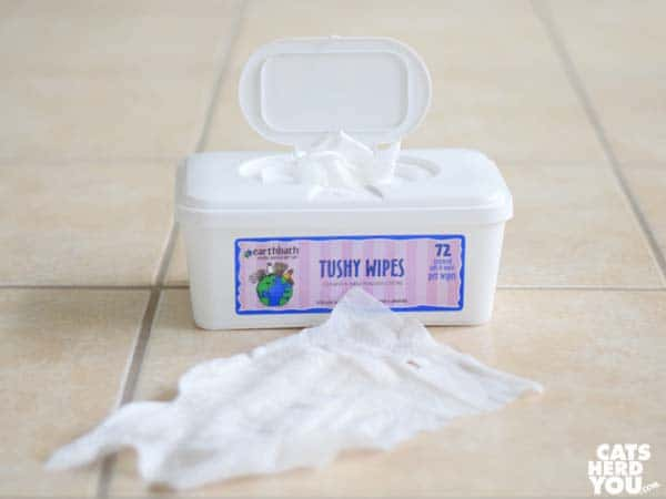 Earthbath Tushy Wipes