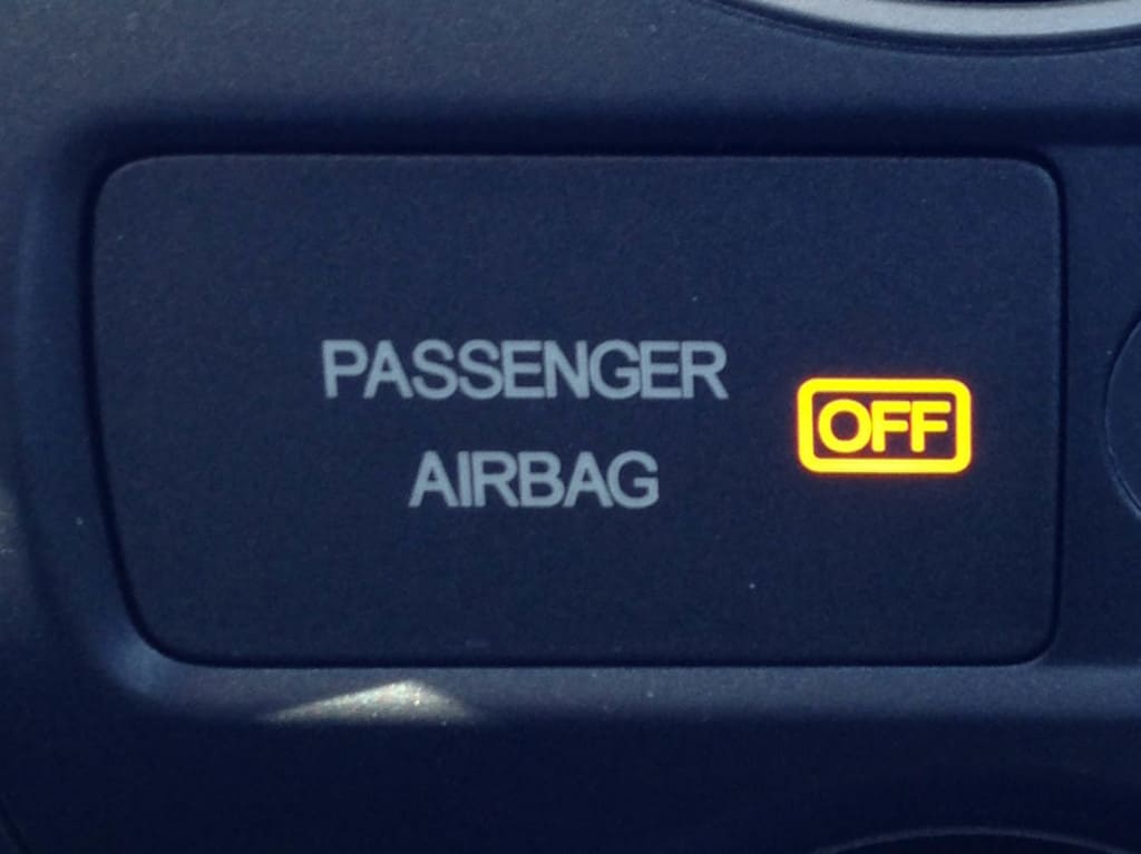 Passenger Airbag Light