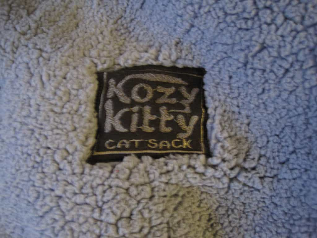 kozy kitty cat sack