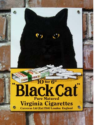 Black Cat Cigarettes