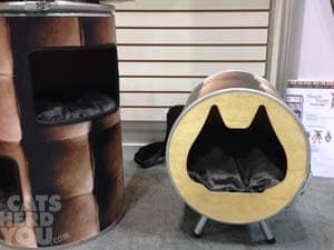 recycled tub cat house