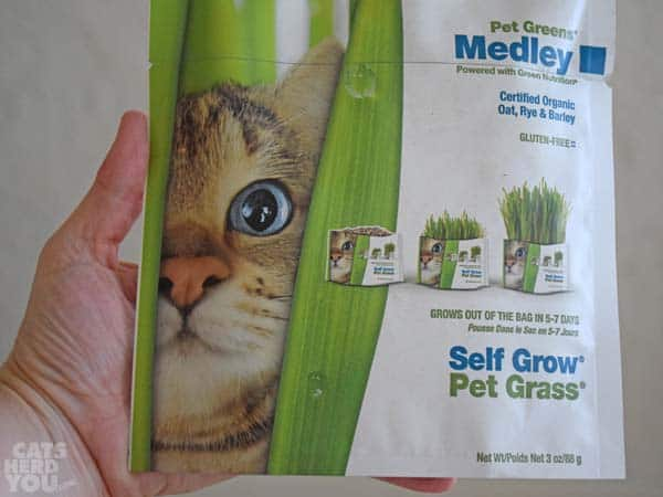 Pet Greens package