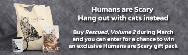 Humans are Scary Special Giveaway