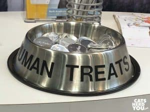 human treats bowl