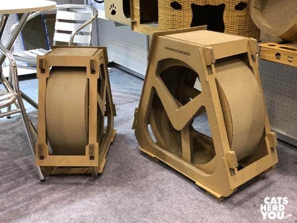 Cardboard wheel