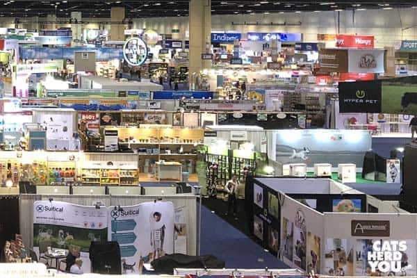 Global Pet Expo show floor before opening its doors
