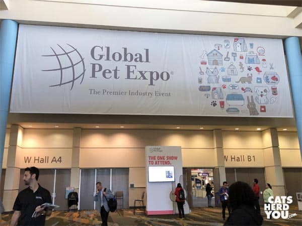 global pet expo sign